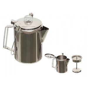 Fox-Outdoor-Kaffeekanne-Perkolator-Edelstahl-1-5-Liter-Camping-Kanne-Edelstahl