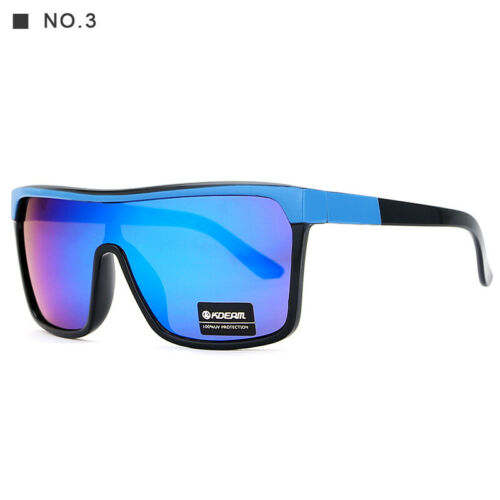 Women Men Sport Reflective Coating HD Lens UV400 UV Proof Sunglasses With Box