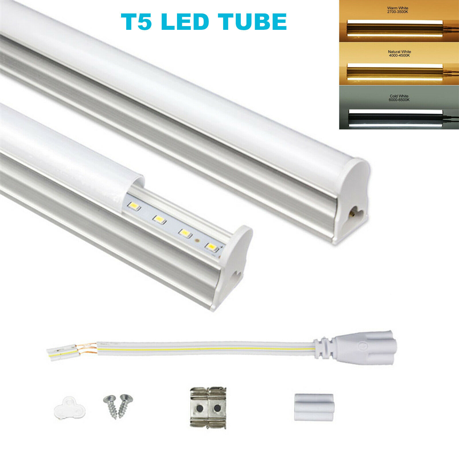 60CM 90CM 120CM T5 LED Röhr Tube Röhre Lampe Roehre Leuchtstoffröhre 9W 14W 18W