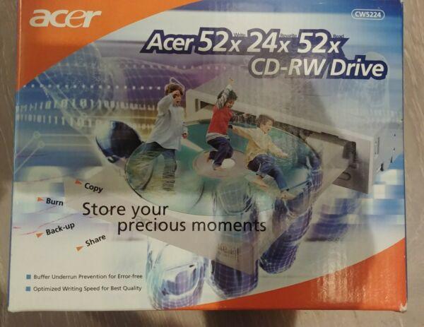 Acer 52x/24x/52x Ide Cd/rw Internal Drive Cw5224 Brand New In Box