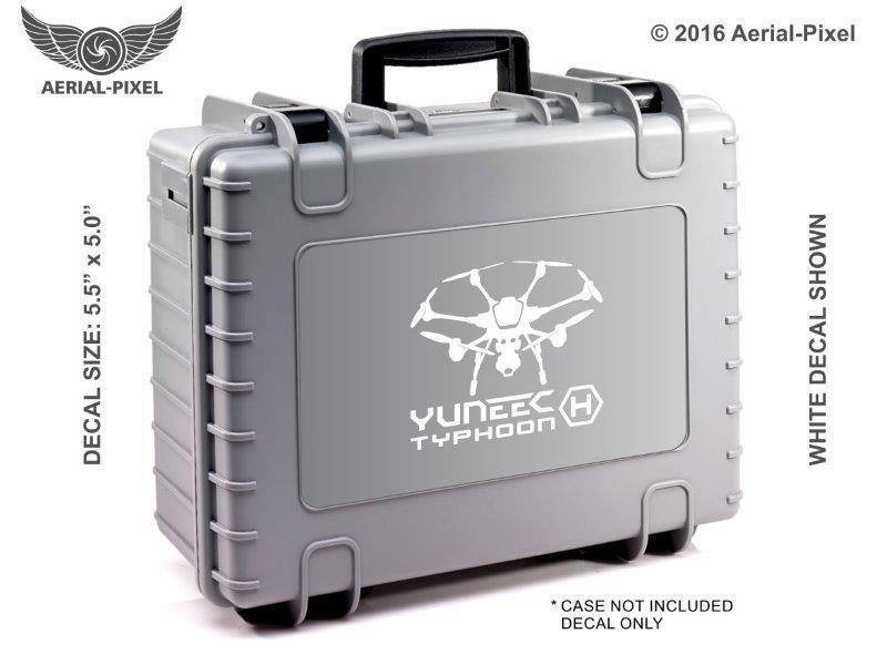 Case Decal Sticker for Hexacopter UAV Drone ST16 CGO3+ Yuneec Typhoon H Window