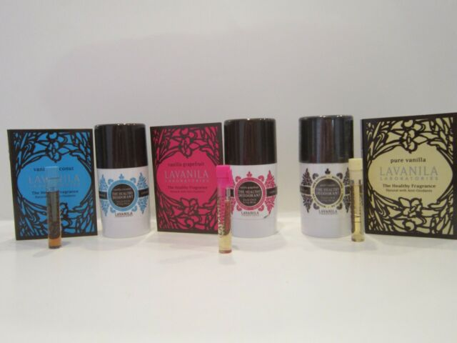 New Lavanila Pure Vanilla, Vanilla Coconut or Vanilla Grapefruit Deo & Fragrance