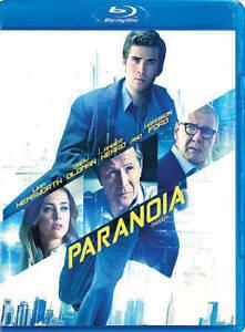 Paranoia-Blu-ray-2013-Canadian-Liam-Hemsworth-Harrison-Ford-Amber-Heard-NEW