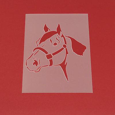 Schablone Wandschablone Pferd Pferdekopf - MT63