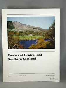 Forests-Central-Southern-Scotland-Illust-1969-Agriculture-Book