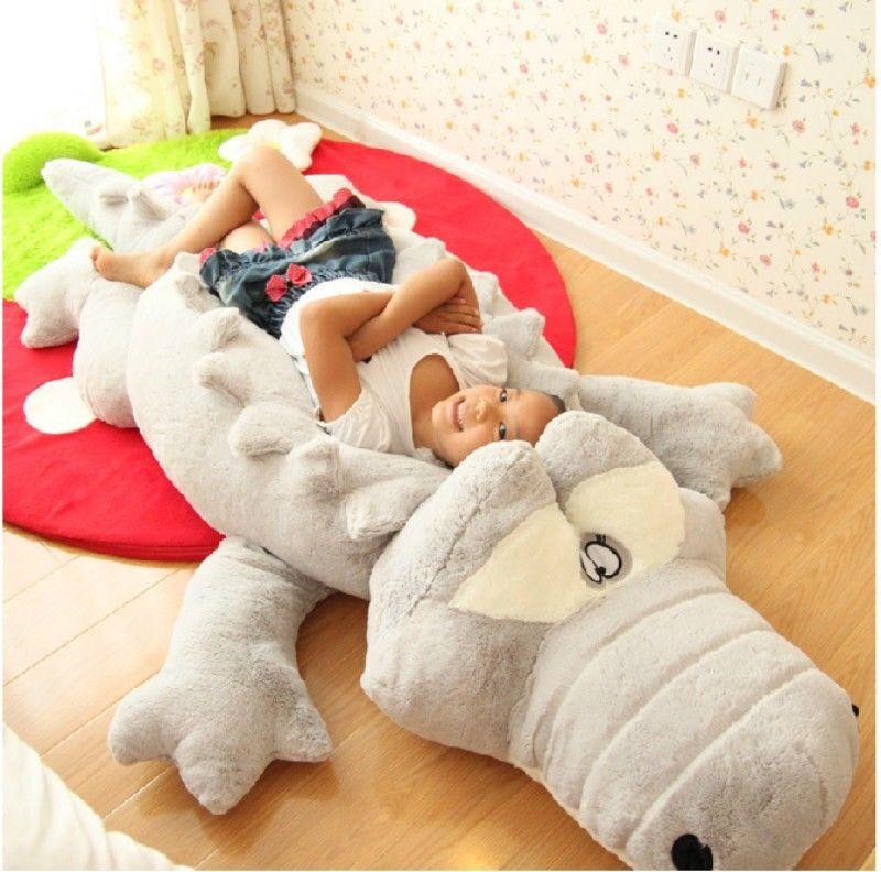 Giant Crocodile Pillow Plush Stuffed Animal Toy Soft Doll Birthday Cushion Gifts