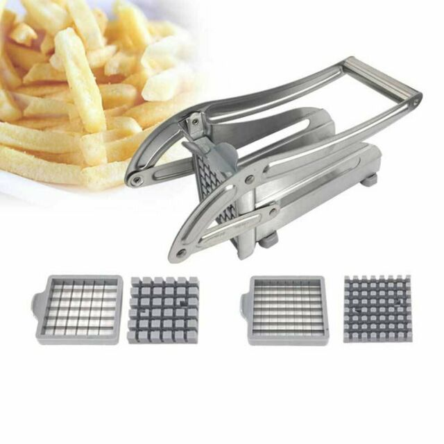 Kitchen Cooking Tools Stainless Steel French Fry Potato Chipper Cutter B@