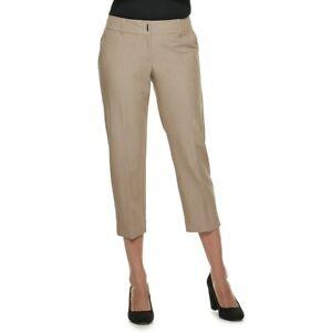 8c2f43fa1fb Apt. 9® Torie Capris Cumin Spice (beige) Women s Sz 14 NWT MPSR 40 ...