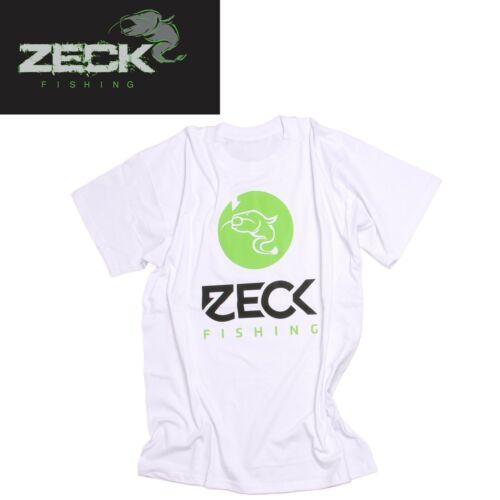 Shirt für Angler Angelshirt Anglershirt TShirt Zeck T-Shirt White
