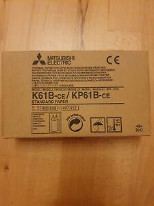 Videoprinterpapier K61B-CE / KP61B-CE,Thermopapier, 3 Rollen. Ultraschall.