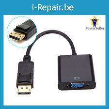 DisplayPort to naar vers VGA adapter Cable DP Converter HP DELL LENOVO IBM ...