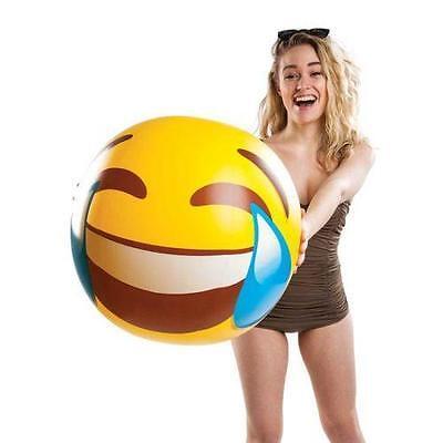 Giant Tears of Joy Laughing LMAO Emoji Beach Ball Holiday Swimming Pool |  eBay