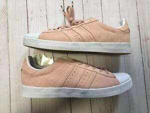 373c10ba74c0 Details about Adidas Skateboarding Pastel Pink Superstar Vulc ADV Suede  Shoes Men s 12 NEW