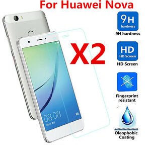 2Pcs-9H-Premium-Tempered-Glass-Film-Screen-Protector-For-Huawei-Nova-Nova-Plus