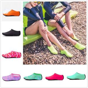 Unisex-Barefoot-Water-Skin-Shoes-Aqua-Socks-for-Beach-Swim-Surf-Yoga-Exercise-GE