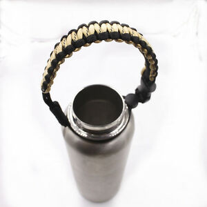 2017 new 1pcs best water bottle handle for paracord bracelet black rice white ebay. Black Bedroom Furniture Sets. Home Design Ideas