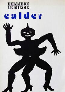 Alexander calder derriere le miroir 221 lithograph 1975 for Calder derriere le miroir