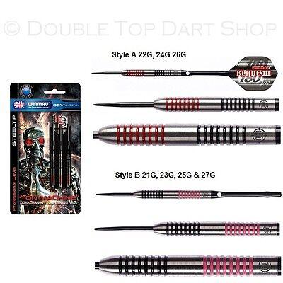 Winmau Ton Machine 80% Tungsten Steel Tip Darts