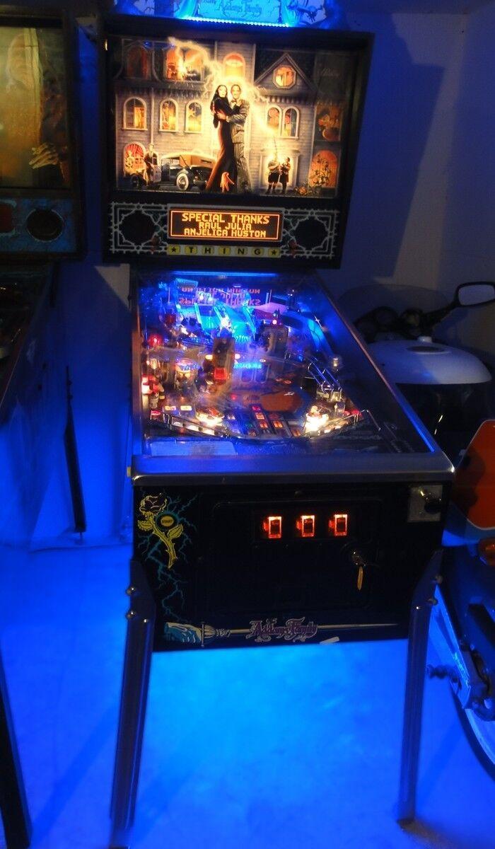 Addams Family Pinball Cabinet light mod