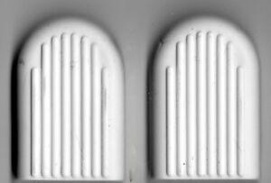 SILVER CROSS DOLLS COACH BUILT PRAM SPARES - WHITE BRAKE PAD RUBBER - OBERON