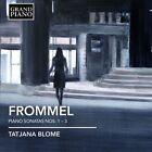 Gerhard Frommel: Piano Sonatas Nos. 1-3 (CD, Mar-2012, Grand Piano)