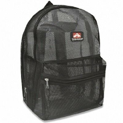 """Mesh """"See Through"""" Trailmaker Backpack New With Tags"""