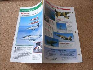 Fiche-Avion-Airplane-Card-caracteristiques-BRITISH-AEROSPACE-HAWK