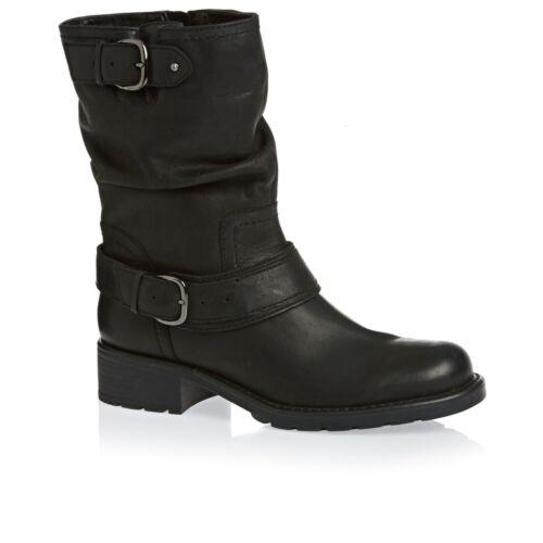 Clarks calf 6 Uk Mid Bnib Boots Leather Ladies 40 Orinocco Jive 5 Black 6qt6wrTvn