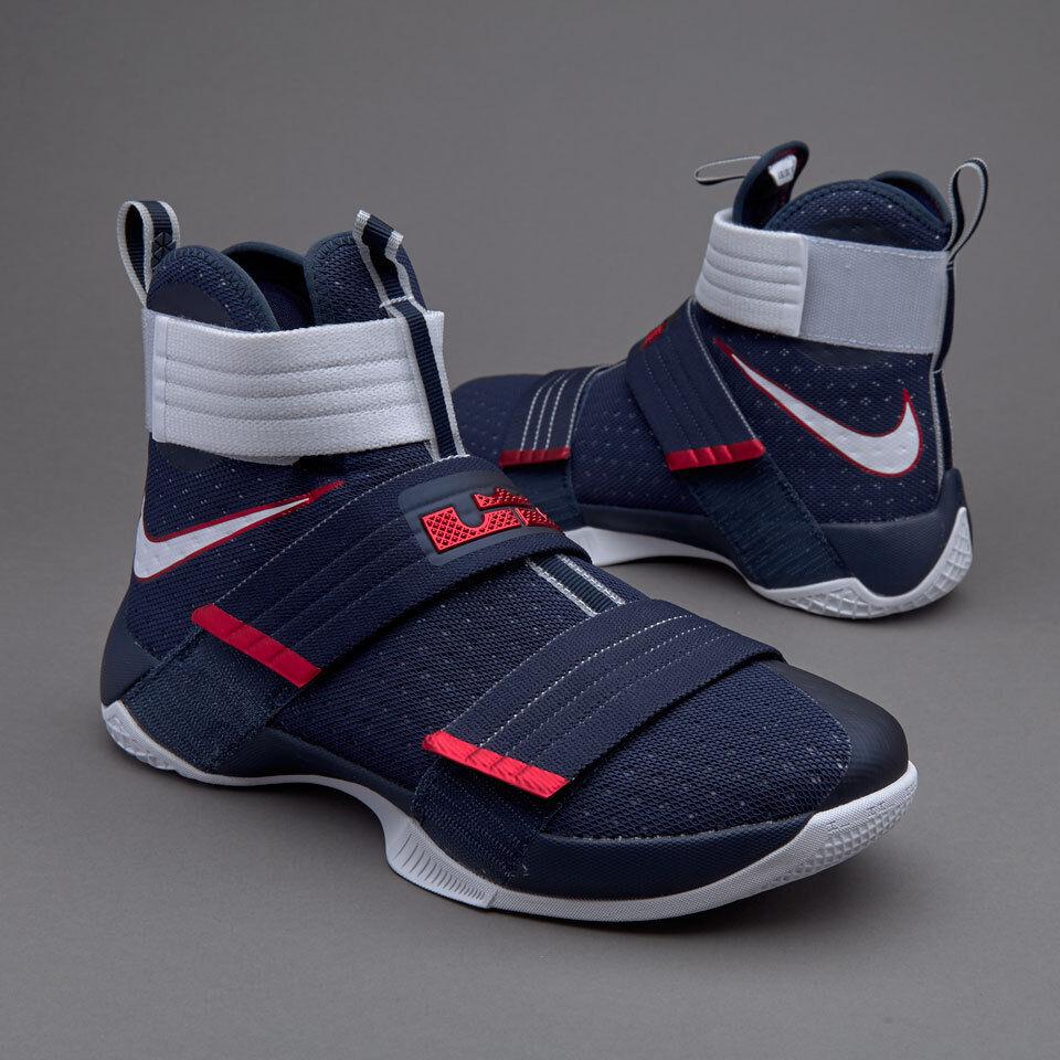 Nike lebron soldato 10 x sfg uniti olimpica 844378-416 finals mvp kyrie
