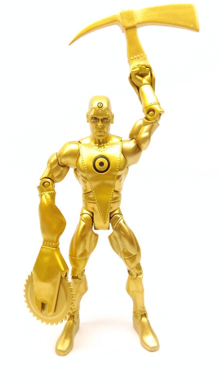 DC Universe Classics 6  Ultra-Humanite CnC Wave 14 Metal Men gold Loose Complete