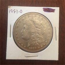 1881 O 90% Silver US United States Morgan Dollar Coin $1 America 1881-O