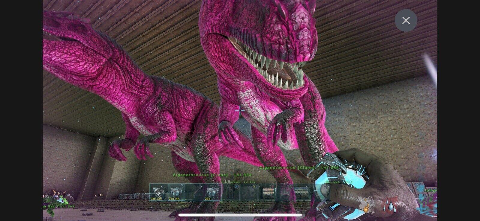 ark survival evolved xbox one pve 1105 Melee Breeding Pair Giga