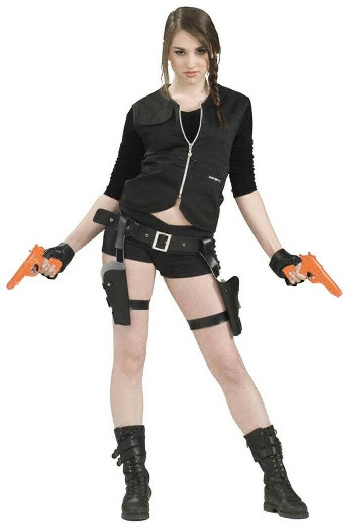 Tomb Raider Weapon Lara Croft Holster Toy Gun 2 Pack Guns Costume Accessories For Sale Online Ebay