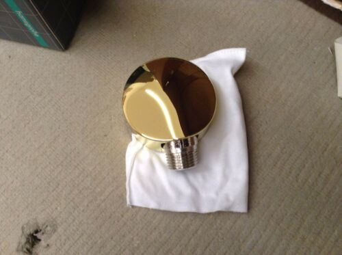 POLISHED BRASS 27454931 Hansgrohe 27454 Wall ELBOW//Outlet