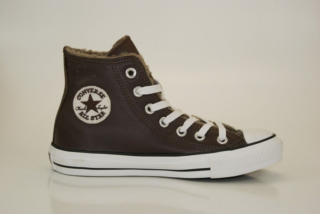 Converse All Star LEATHER HI  Gr. 35 Sneakers Chucks Damen Kinder Schuhe