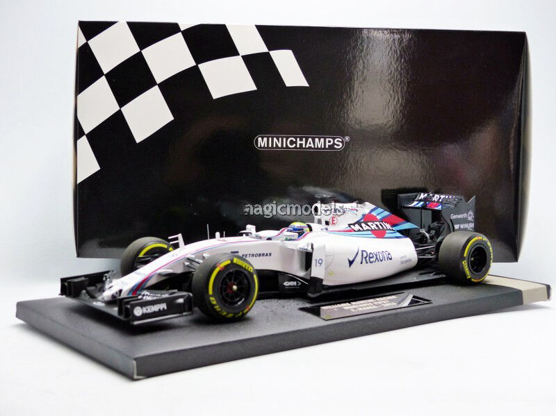 Minichamps WILLIAMS Mercedes FW37 2015 Martini F. Massa  18 Scale New