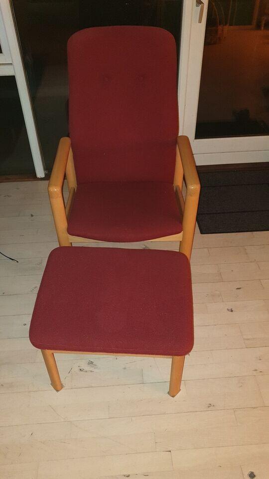 Schou Andersen, Lænestol med skammel