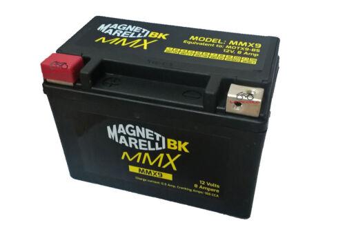 MMX9 BATTERIA SIGILLATA MAGNETI MARELLI YTX9-BS SUZUKI Burgman 250 2002