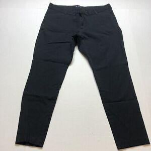 Gap Slim City Pants Black Crop Stretch Size 16 A1503