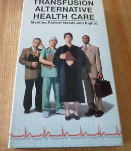 Rare-VHS-Movie-Transfusion-Alternative-Health-Care-Original-Version