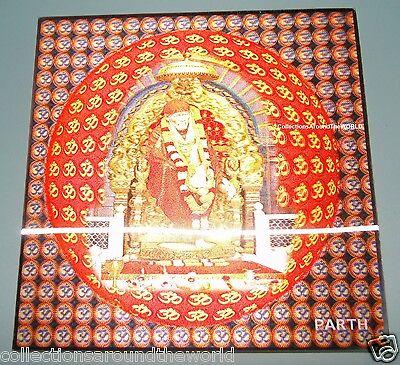 Hindu Lord Shirdi Saibaba God Sai baba 3D Lenticular Holographic Photo Poster