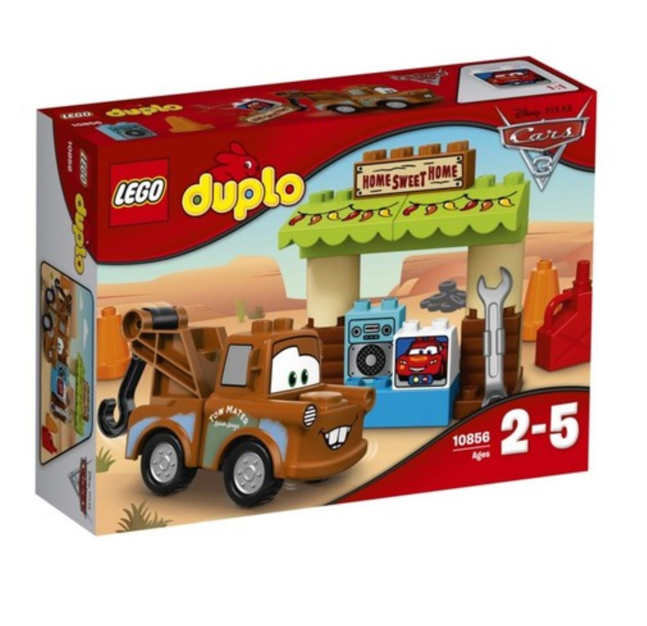 [LEGO] duplo 10856 Kreativt spela Mater 65533;65533; s Shed 2017 Version fri Shipping