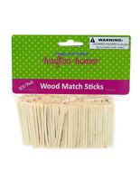 500 Wooden Match Sticks 2 High