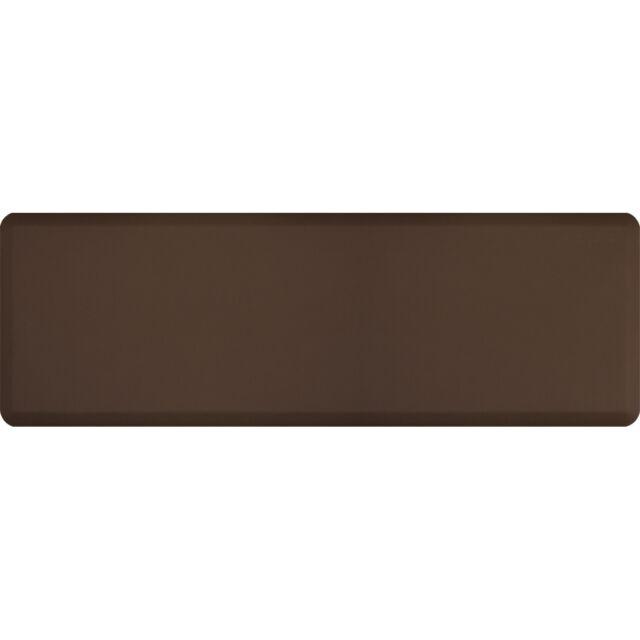 Wellness Mats Anti Fatigue Kitchen Bathroom Mat 6 X 2 Brown For Sale Online Ebay
