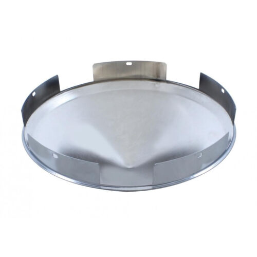 """1/"""" Lip for Kenworth Peterbilt...... 5 Even Notched Pointed Front Hub Cap"""