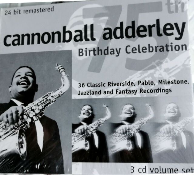 Cannonball Adderley - 75 Birthday Celebration  24 Bit Remastered 3 CDs