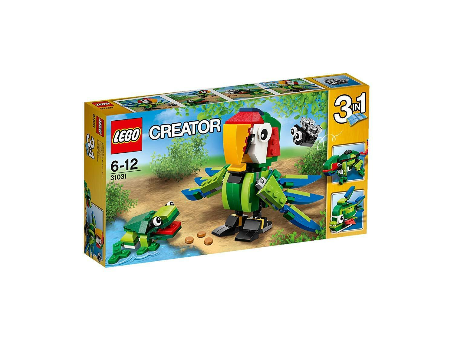 Lego Creator Tropical Animals 31031 New Obnkid4942 Lego Complete