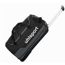 Sac à roulette de voyage Uhlsport Basic Line Travel trolley - Noir 60 L Football
