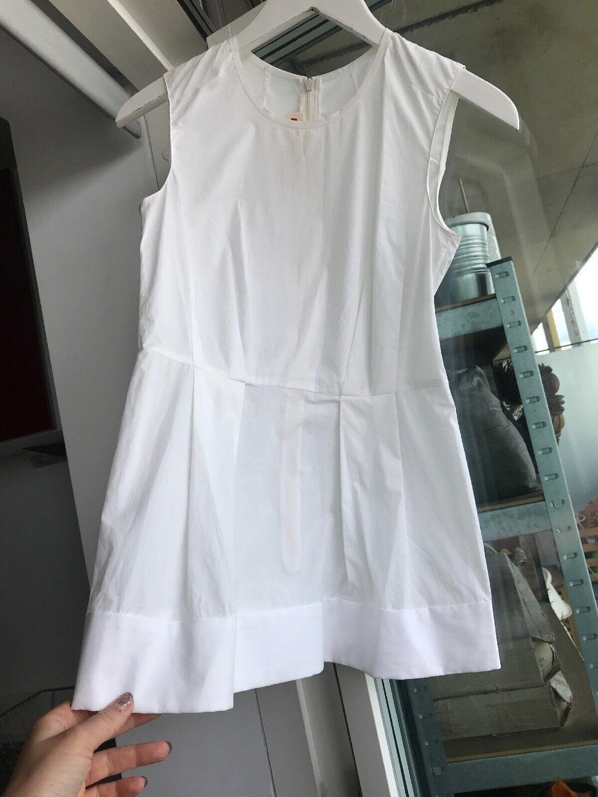 Marni Sleeveless Weiß Hemd Größe 38   UK 6