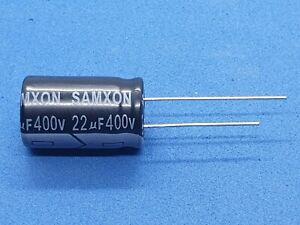 Elko-radial-22-F-22uF-400V-105-C-12-5x20mm-3-Stueck-Samxon